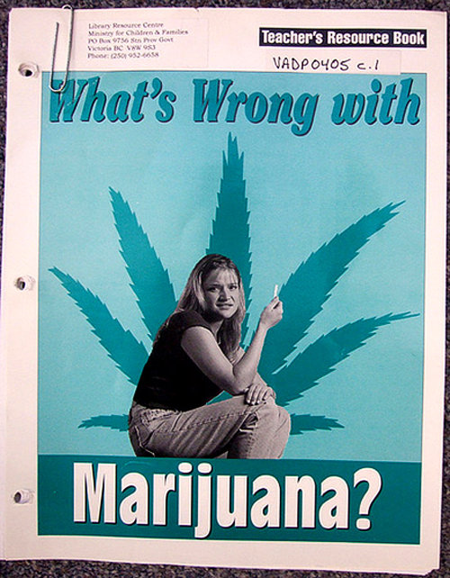 stonerparty:  The covergirl looks like she's asking, What's wrong with *this* marijuana?