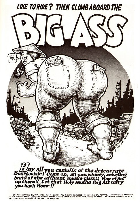 thesweetestpsychopath:  Neat Stuff Blog: R. Crumb Comic Art