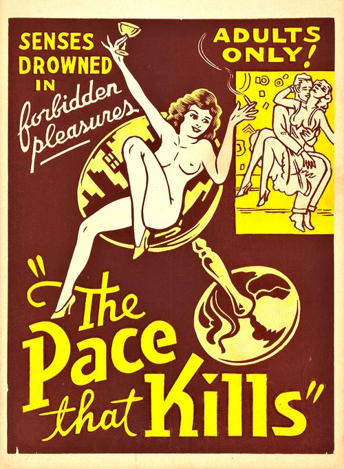 Poster for The Pace That Kills (aka Cocaine Fiends) (1935, USA